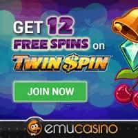 EmuCasino no deposit 12 Free Spins 1