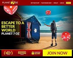 Planet 7 OZ Casino welcome Bonus