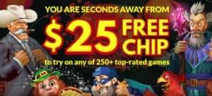 Planet7oz casino $FREE CHIP