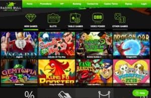 RagingBull Casino Bonus codes 12