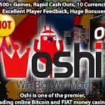 Get 20 Free Spins No Deposit Bonus by Oshi Casino