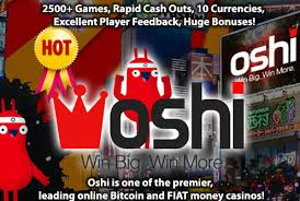Get 20 Free Spins No Deposit Bonus by Oshi Casino