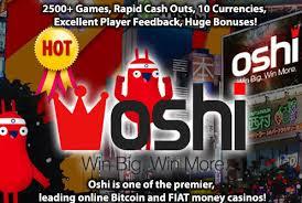 Get 20 Free Spins No Deposit Bonus by Oshi Casino 1