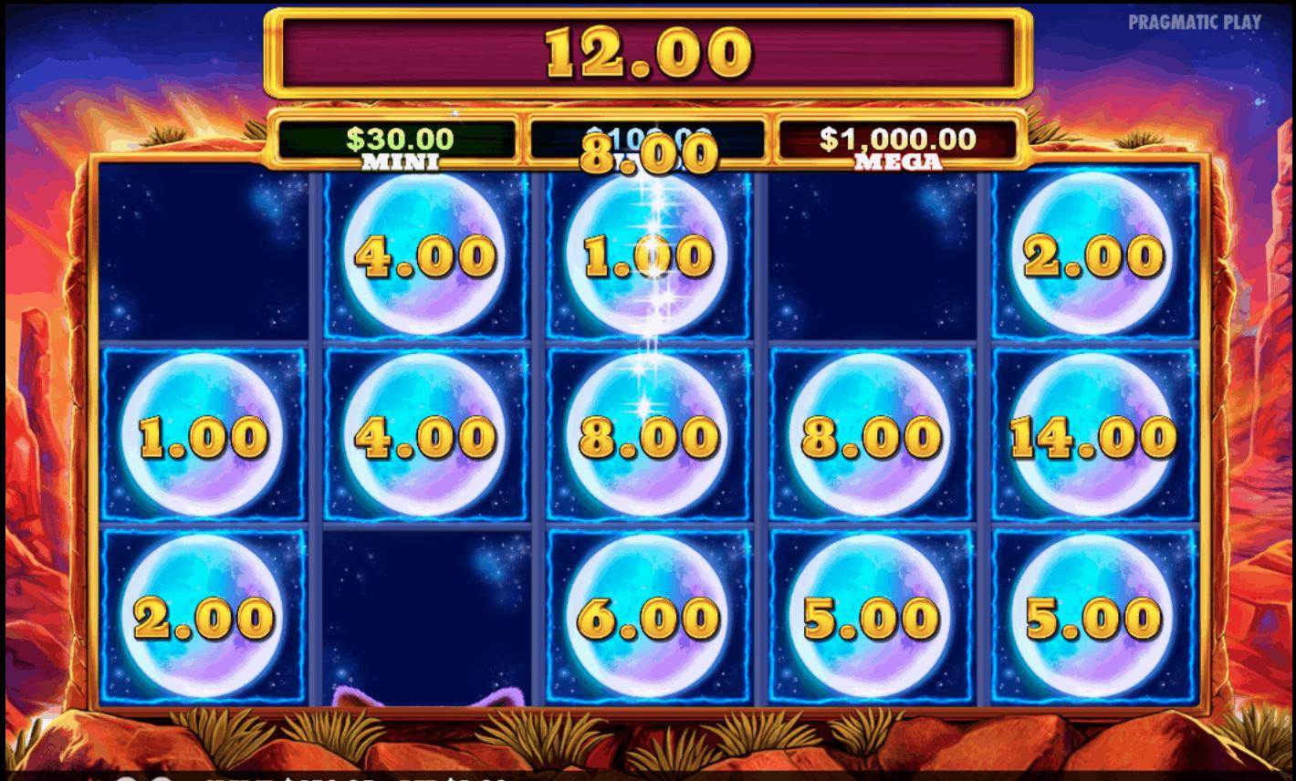 Wolf Treasure - Emu Casino - Big Win