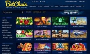 BetChain Casino Bonus Codes 31