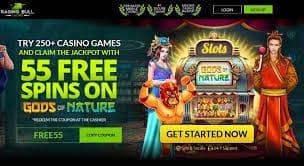 RagingBull Casino 55 free spins no deposit bonus 3
