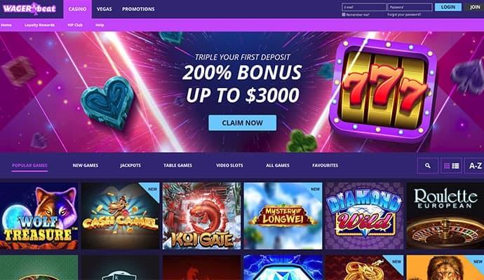 wager beat casino promo code